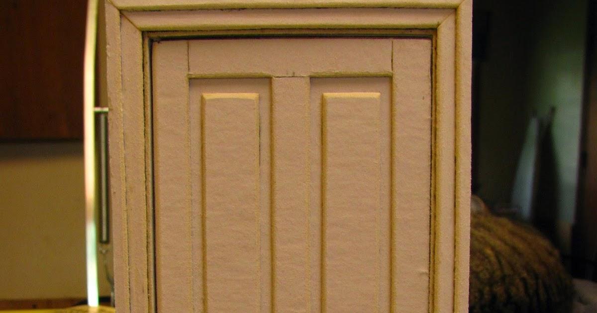 Dollhouse Miniature Furniture Tutorials 1 Inch Minis 1 Inch Scale Dollhouse Interior Door