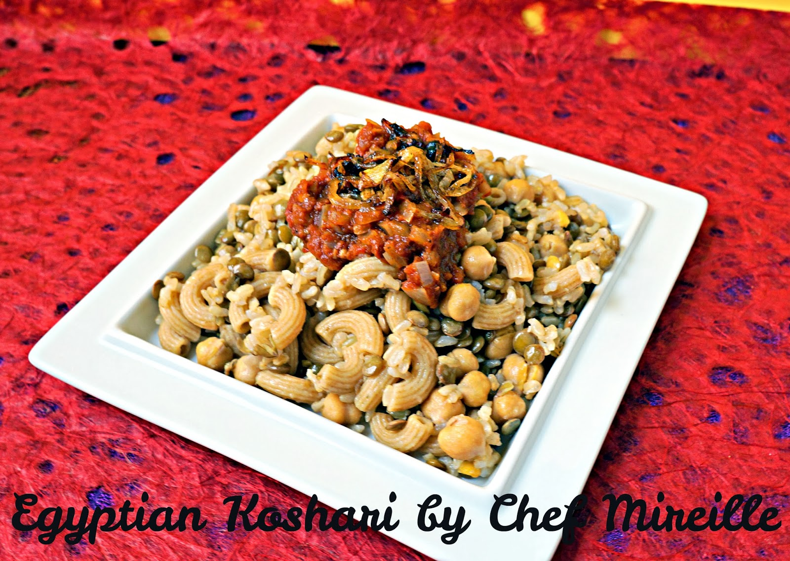 Egyptian Koshari