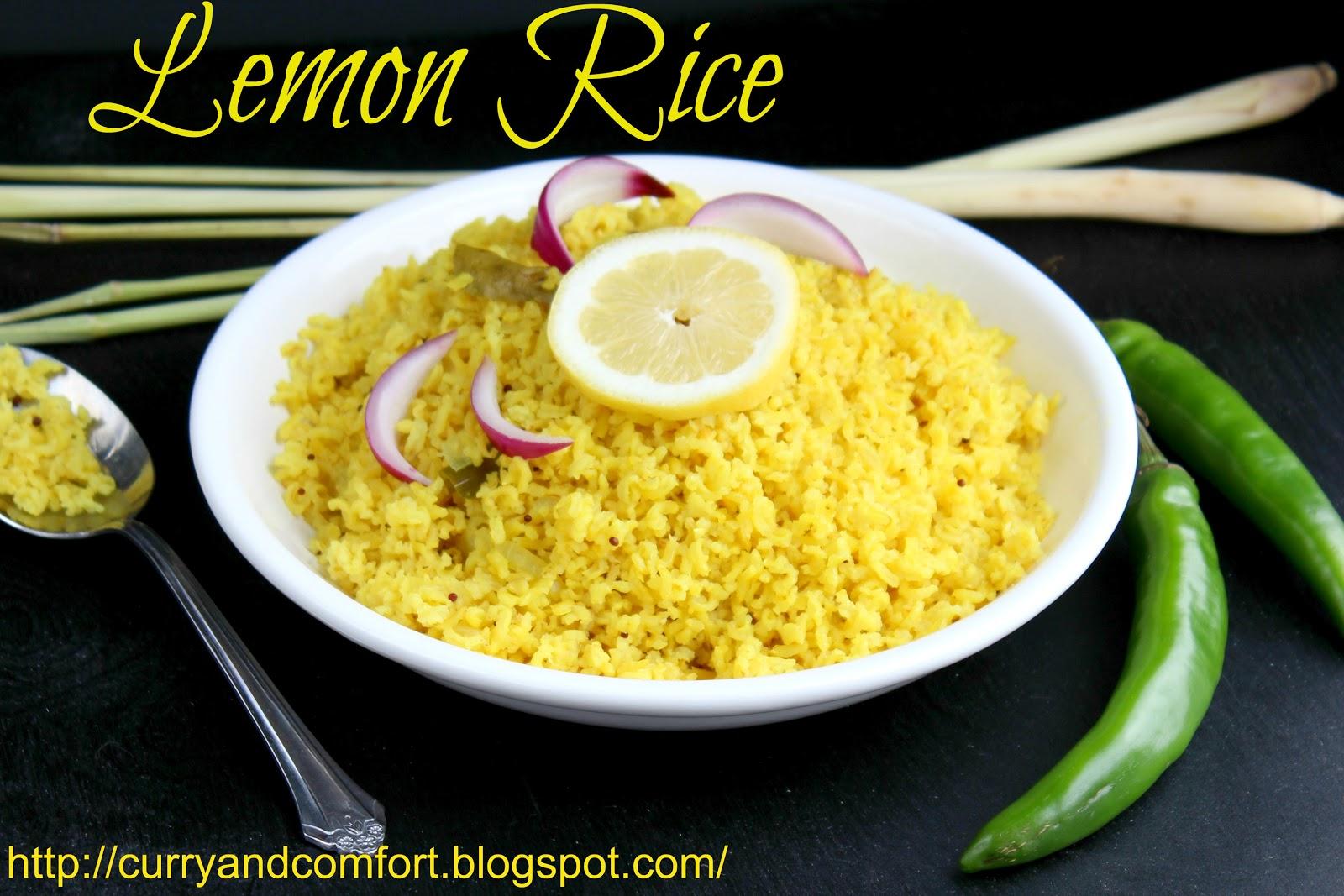 Kitchen Simmer: Lemon Rice