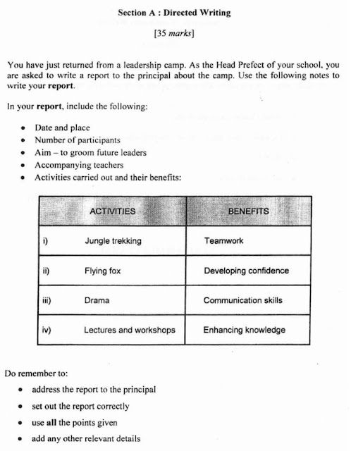 spm 2008 english paper 1 directed writing