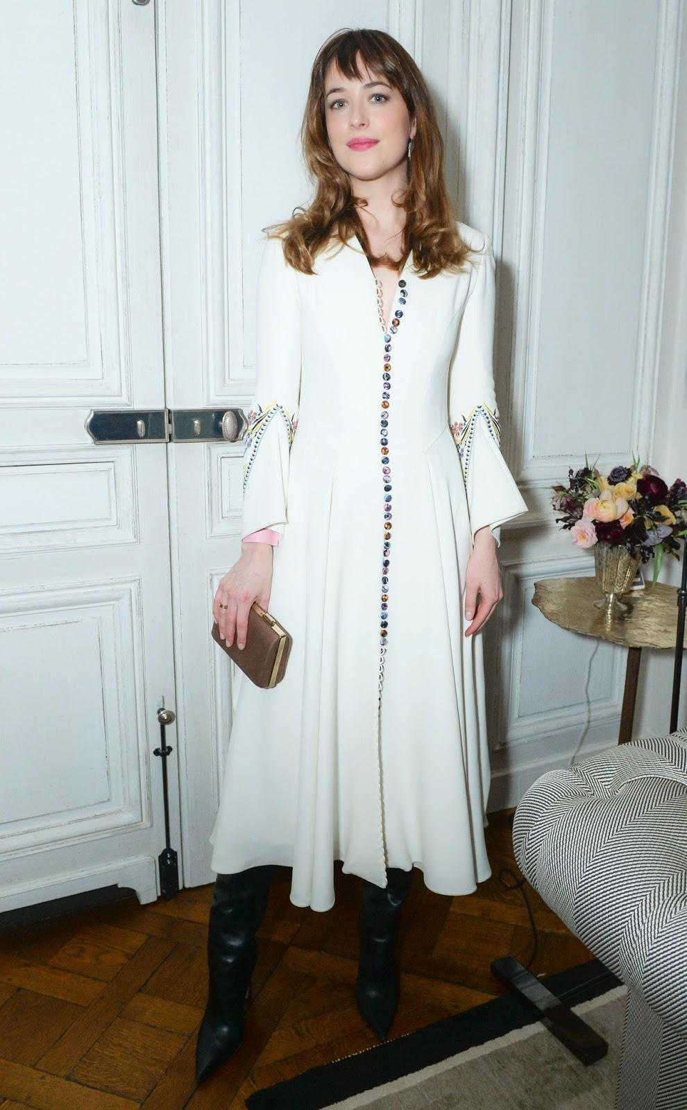 Fashion Model, Actress @ Dakota Johnson - The CFDA/Vogue Fashion Fund
