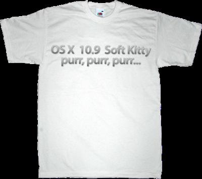 apple mac OSX The Big Bang Theory sheldon Cooper t-shirt ephemeral-t-shirts