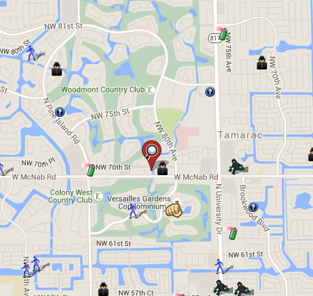 Broward County Crime on SpotCrime | SpotCrime - The Public\'s Crime Map
