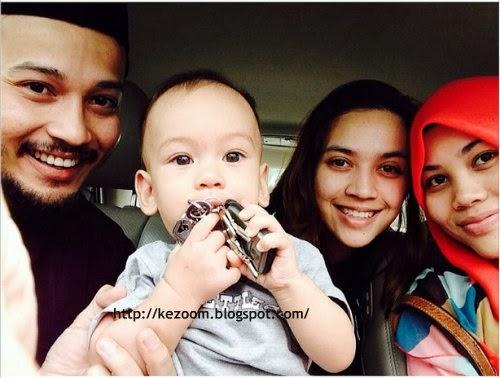14 Gambar Terkini Muhammad Anak Farid Kamil & Diana Danielle