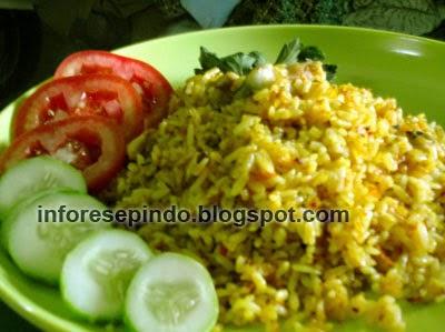 Cara Membuat Nasi Goreng Kuning