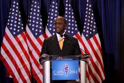 Herman Cain - America's next black President?