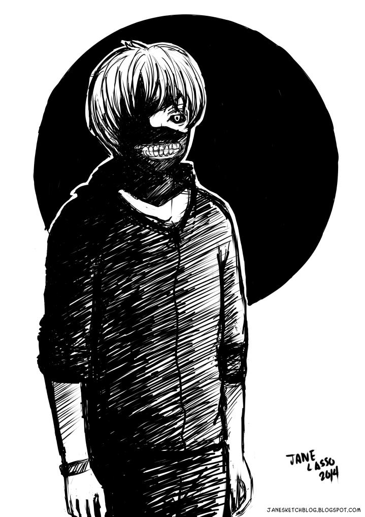 Fanart de Tokyo Ghoul