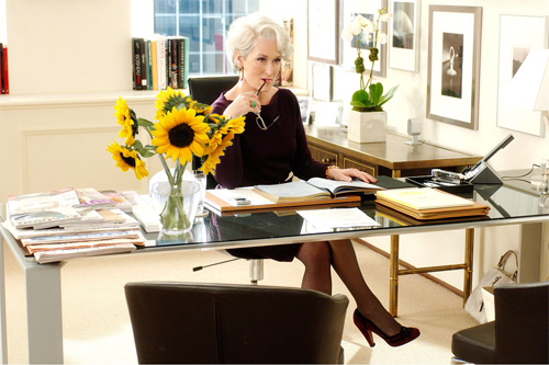 miranda priestly Kris jenner channels the devil wears prada's miranda priestly with fierce blond hair: we are the same person.