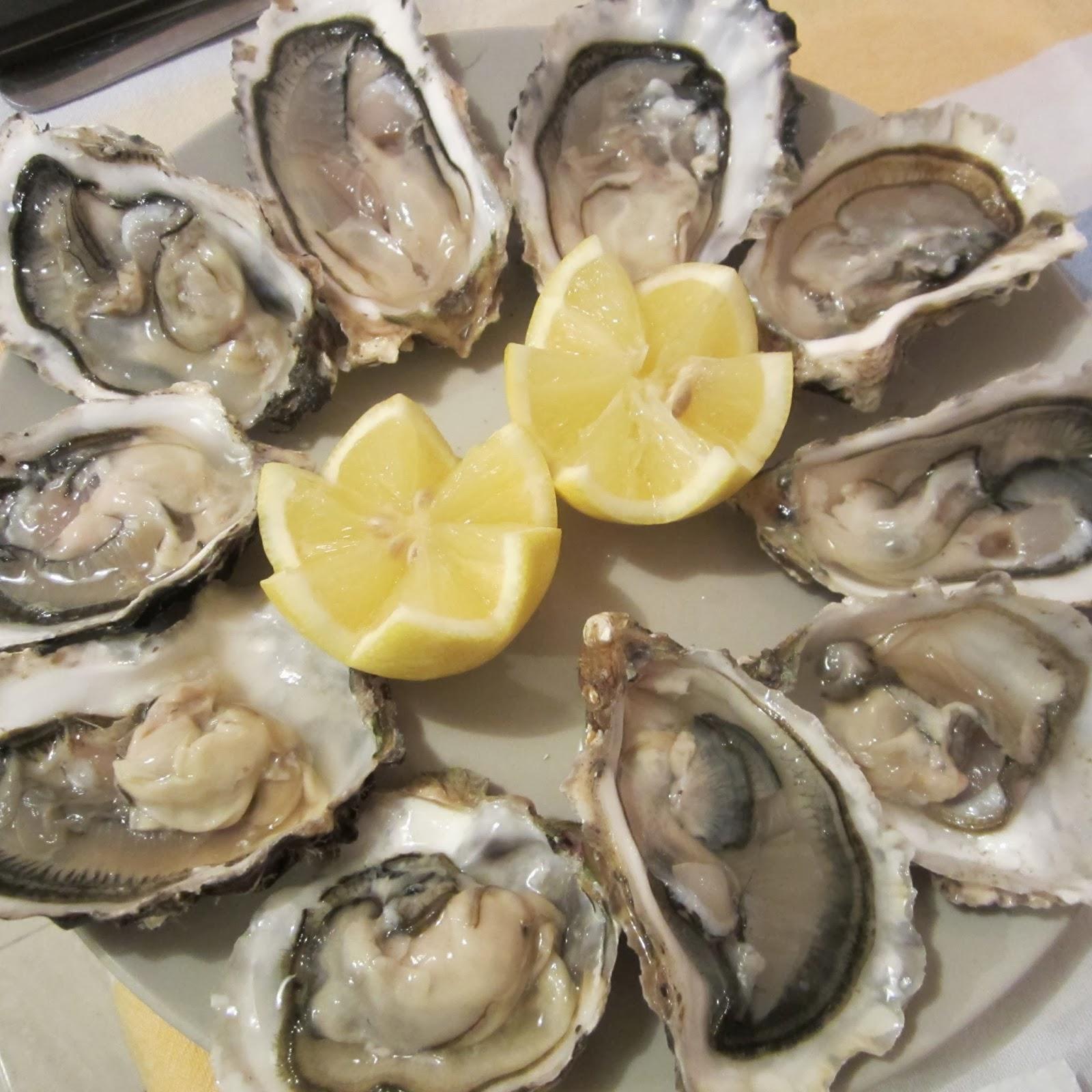 Las recetas de la nena ostras for Cocinar ostras