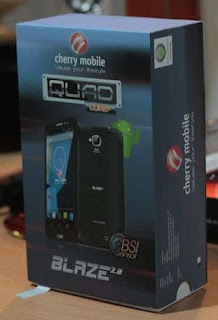 whats in the box of cherry mobile blaze 2.0