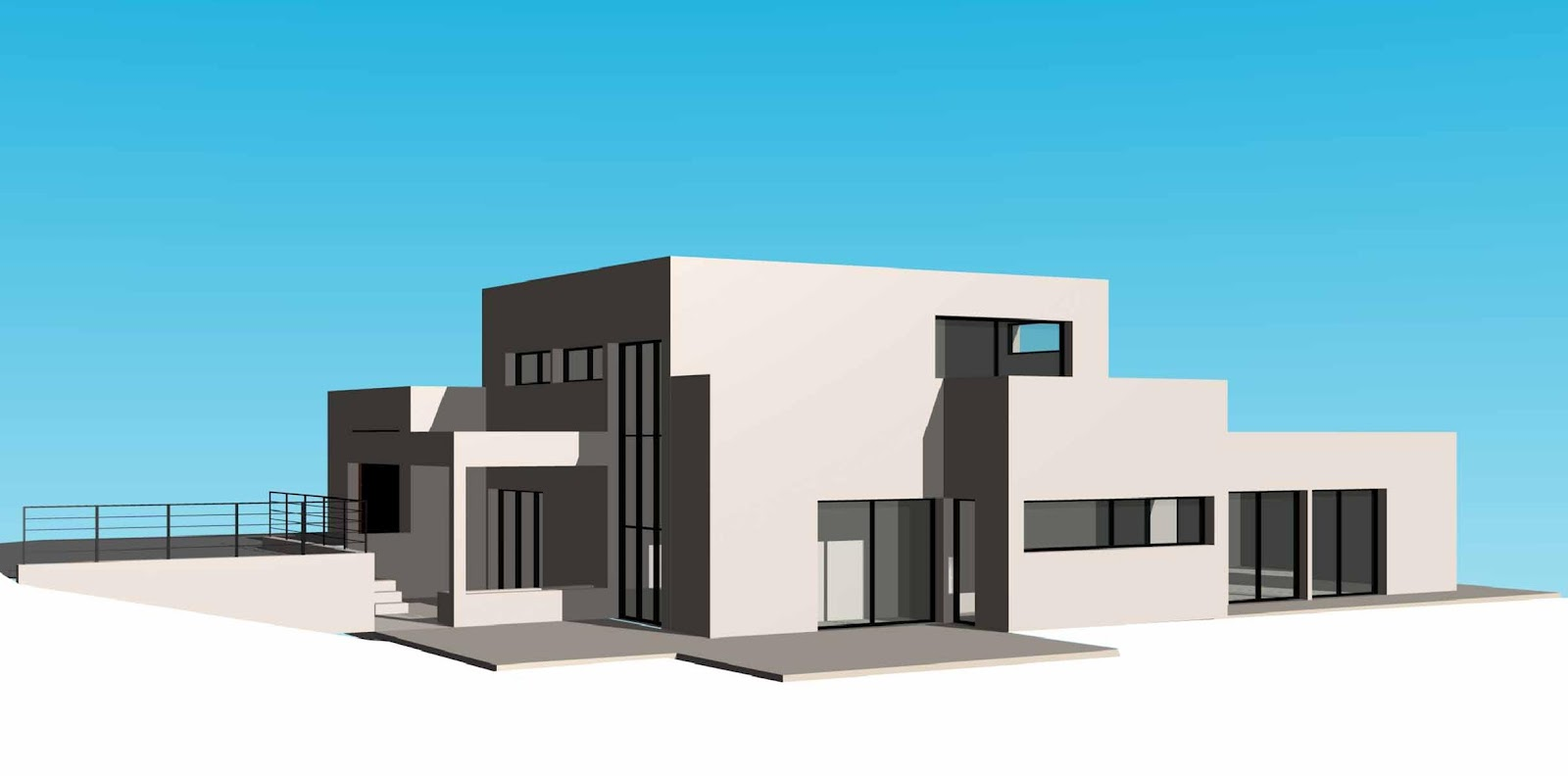 Diuzet architectures maison individuelle chartres de for Piscine 35 chartres de bretagne