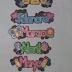 Letreros Pequeños de Meses (12 meses)