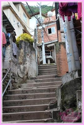 escadas do Dona Marta