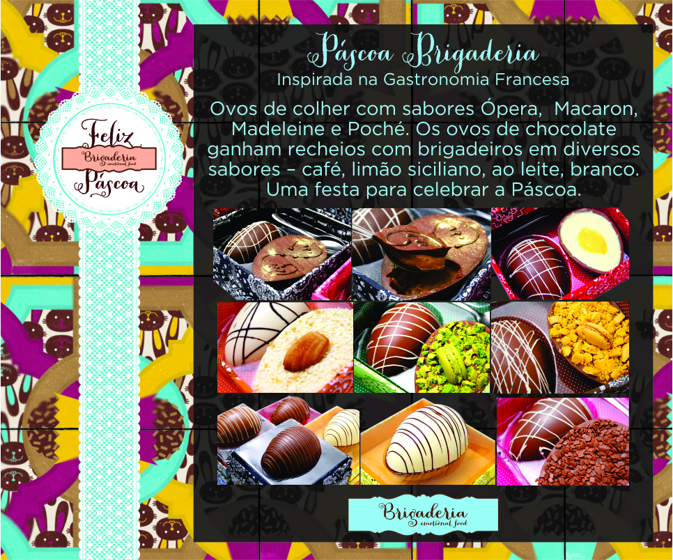 Brigaderia p scoa brigaderia inspirada na gastronomia for Gastronomia francesa historia