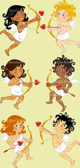 """Série """"Cupidinhos"""" para a TUTY"""