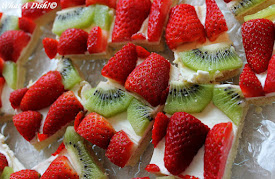 Mascarpone Fruit Pizza