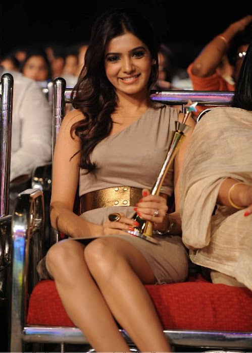 samantha at lux sandal cinemaa awards hot images