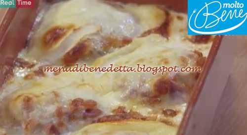 Filetto alla Savoiarda ricetta Parodi per Molto Bene su Real Time