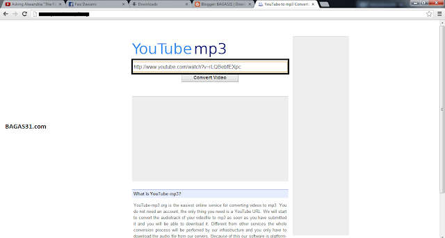 Cara Download MP3 di YouTube
