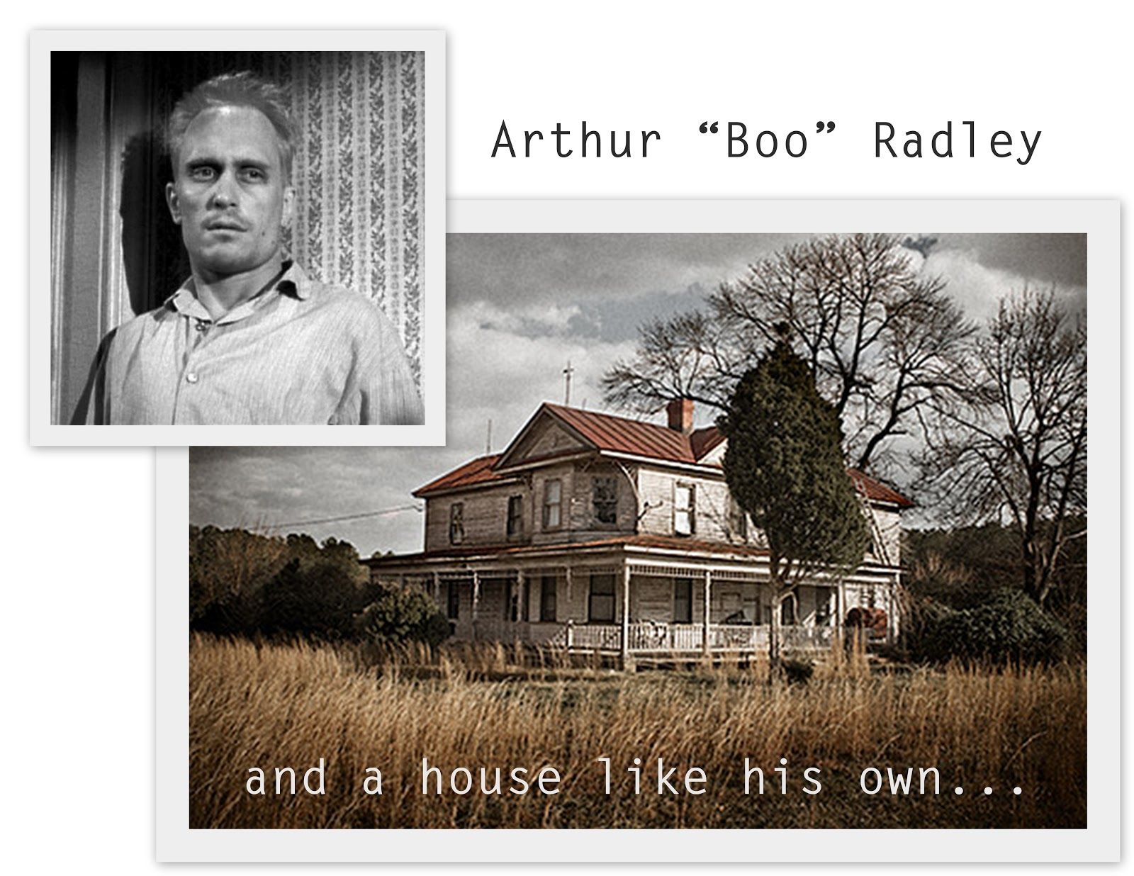 boo radley Boo radley lyrics: you're always sitting back / time's got to relax / and you're just waiting for / the answers / but the time is here and now / you're just not letting out / all we think of you is.