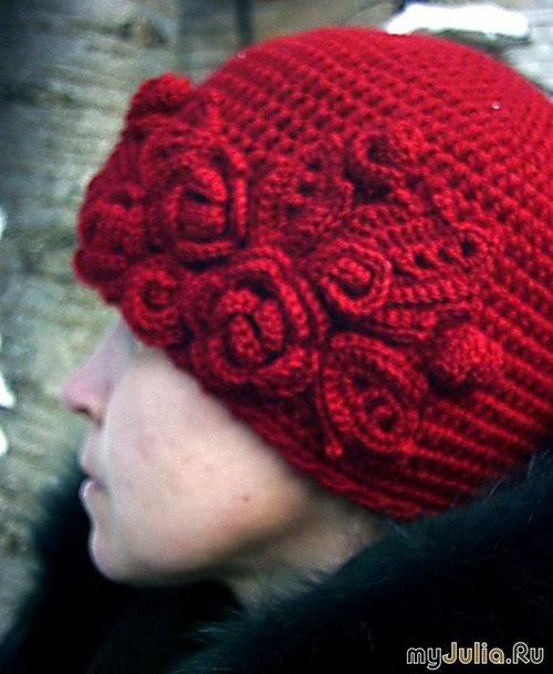 Фото шапок связанные крючком
