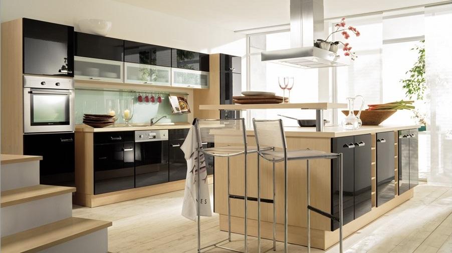 Fotos de cozinhas modernas decora o e ideias for Cocina con isla y desayunador