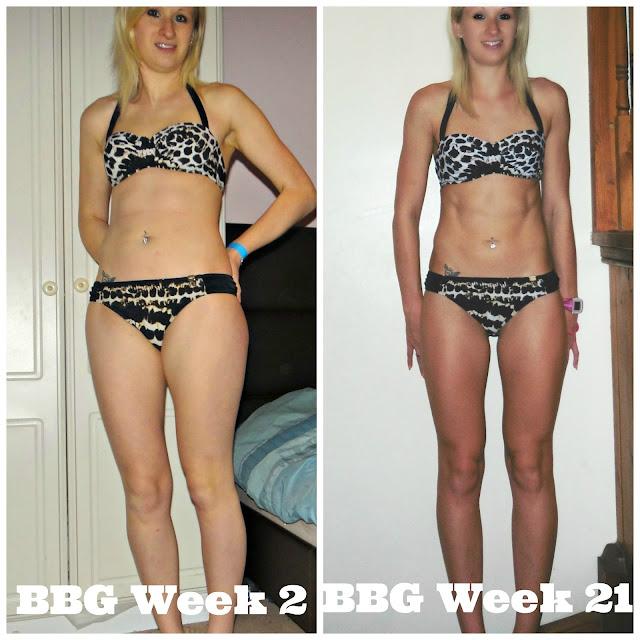 Kayla Itsines Bikini Body Guide Transformation