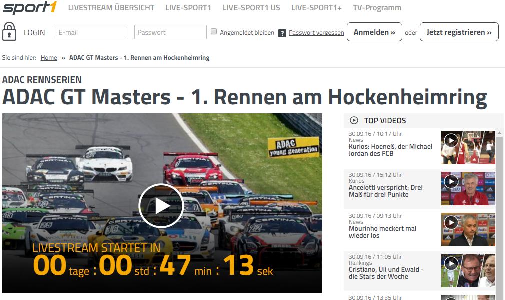 ADAC Masters Hockenheim