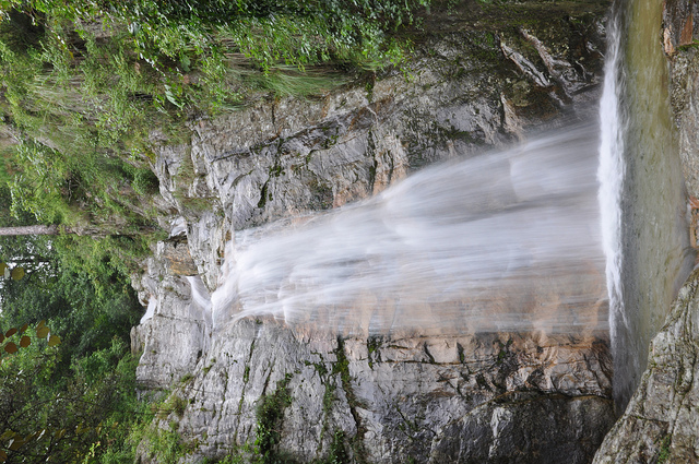 Kausani India  city pictures gallery : Tourist Attraction India: Waterfall Kausani