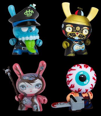 Kidrobot Dunny Series 2011 - MAD, Kronk, 64Colors & Mishka