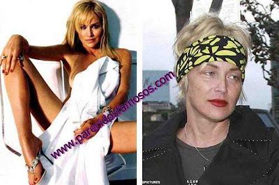 Sharon Stone antes y después