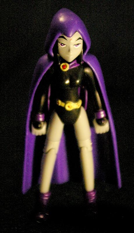 Raven From Teen Titans Toys : Action figure adventures raven teen titians