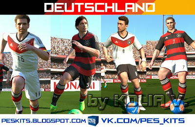 PES 2014 Germany Full GDB Kits by Kolia V