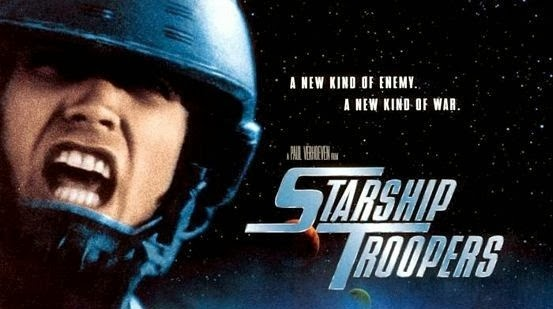 an analysis of the starship Yes, starship troopers the campy anti-war satire about a race from a distant,  desert land, who out of nowhere strikes a civilian target in a way.