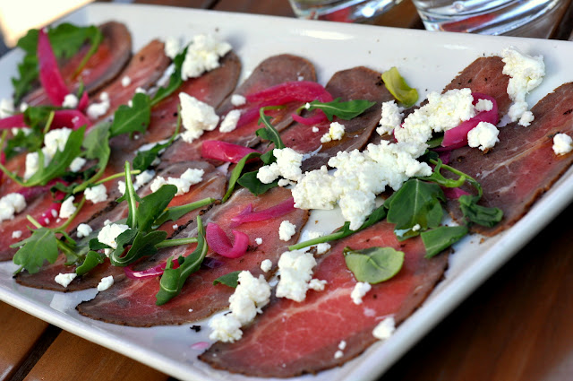 Bison Carpaccio - Gertrude's - Phoenix, AZ | Taste As You Go