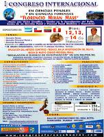 I Congreso Internacional en Ciencias Penales y Forenses