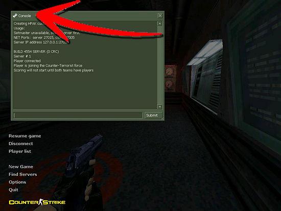 Как сделать коды для кс
