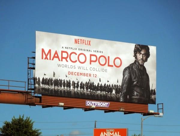 Marco Polo series premiere billboard