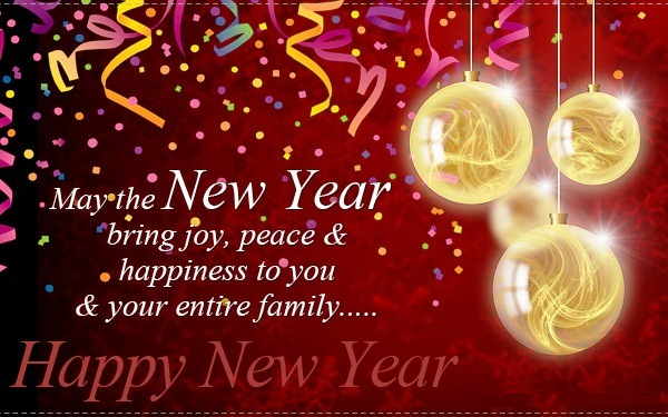 Happy new year 2016 quotes saying wishes status for friends and family