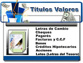 TITULOS VALORES