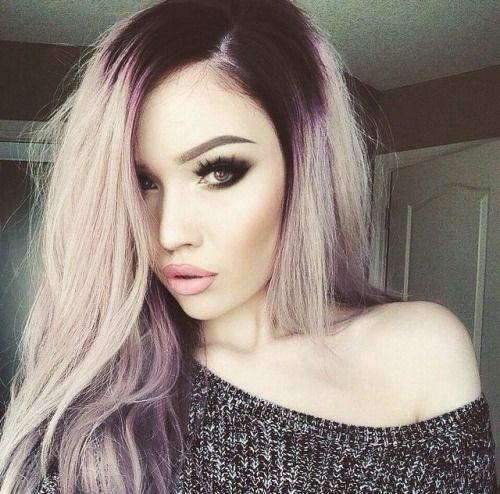 Hair Color Inspiration for Girls with Pale Skin! - The ... | 500 x 494 jpeg 53kB