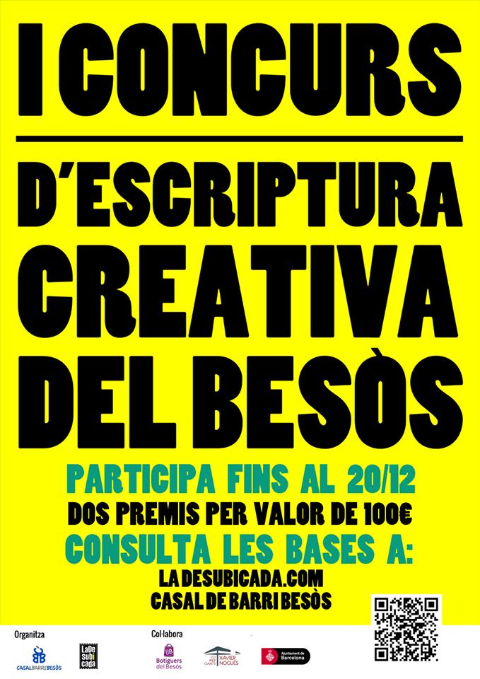 Premio del Jurado en el I Concurs d'Escriptura Creativa del Besòs