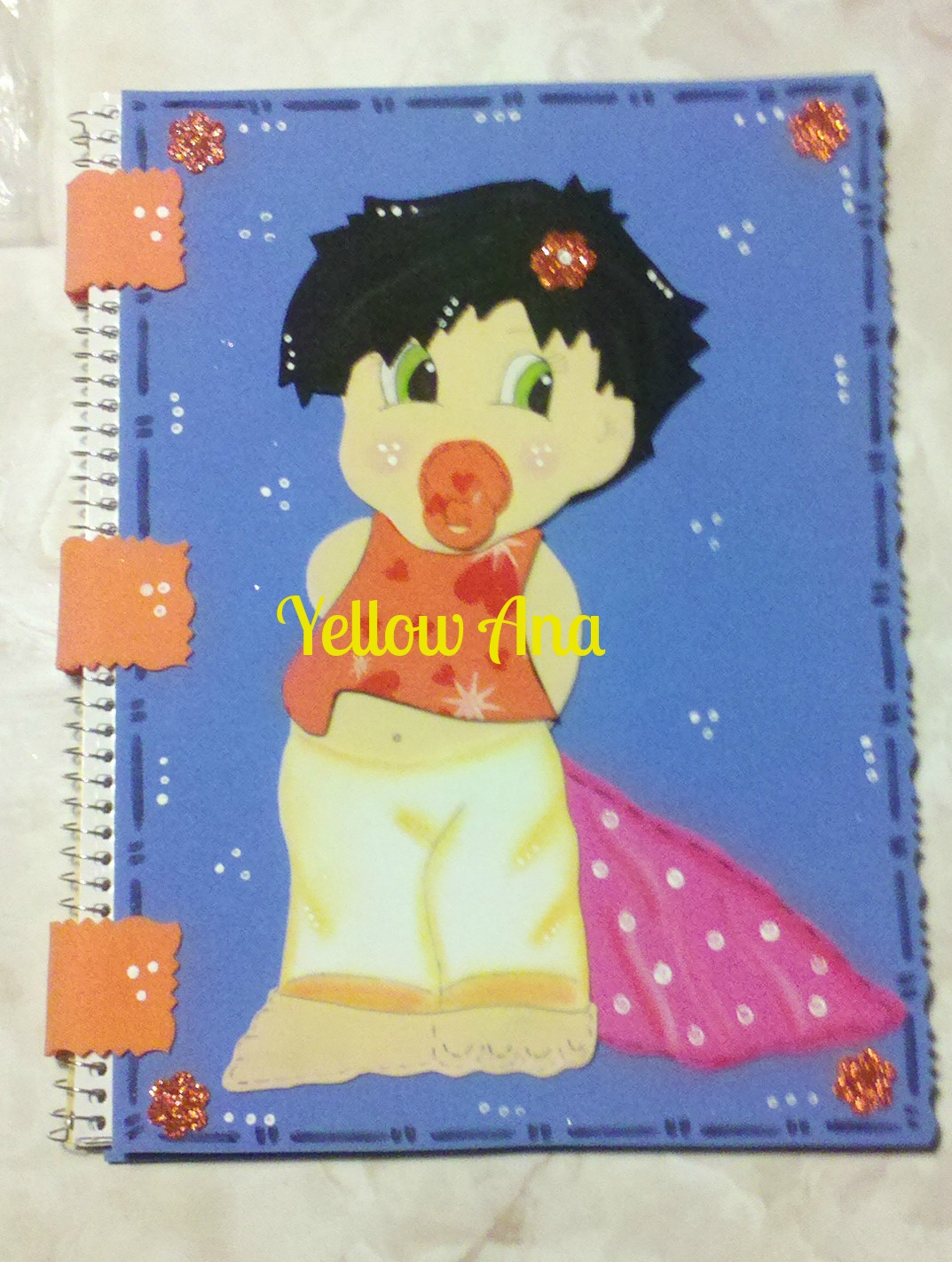 Rincon Yellow Ana Cuadernos Decorados Foamy
