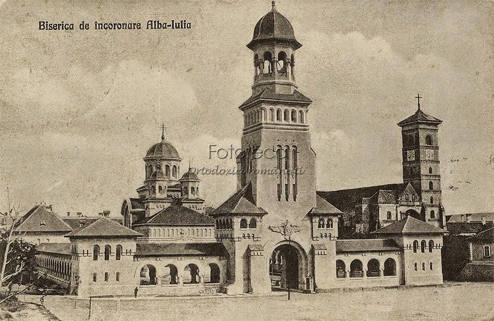 Biserica de Incoronare Alba Iulia, 1924