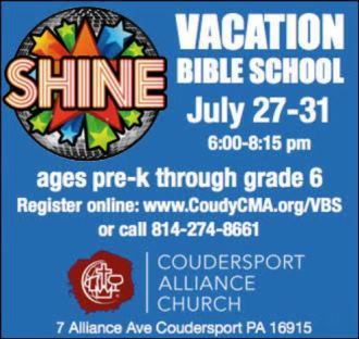 7-27-7-31 VBS Coudersport Alliance Church