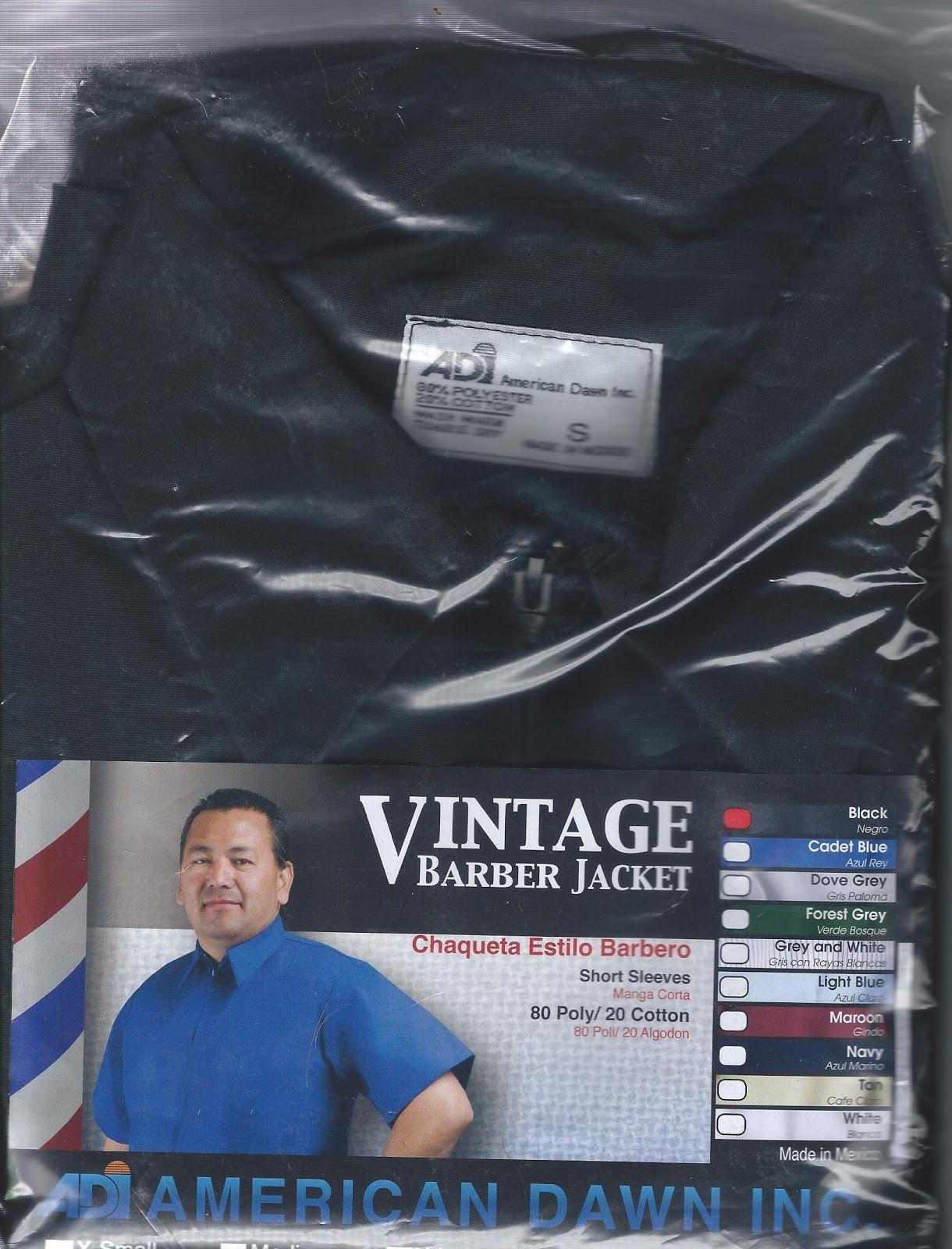 Barber Jackets And Capes : Barber Jackets And Capes
