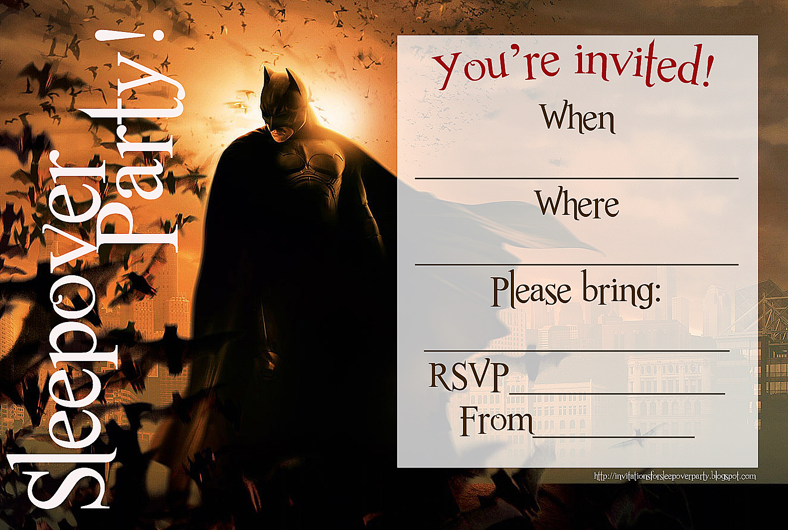 a4+invitation+to+sleepover+party.gif (1000×1200 ...