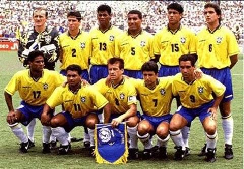 Seleção Brasil tetracampeão copa do mundo 1994