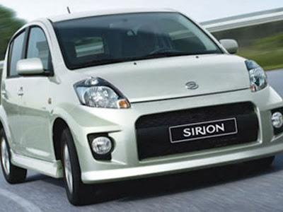 Air Filter - Filter Udara Daihatsu Sirion 1.3L