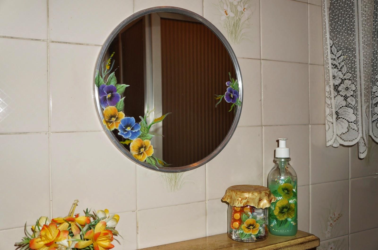 decoupage espelho
